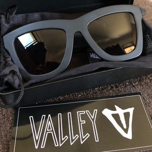 Valley Eyewear Accessories - Valley eyewear DB matte black. Brand new with tag.